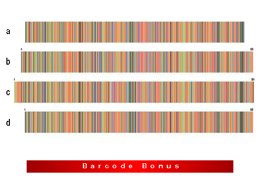 About colour-coded DNA barcodes « Resonating Bodies