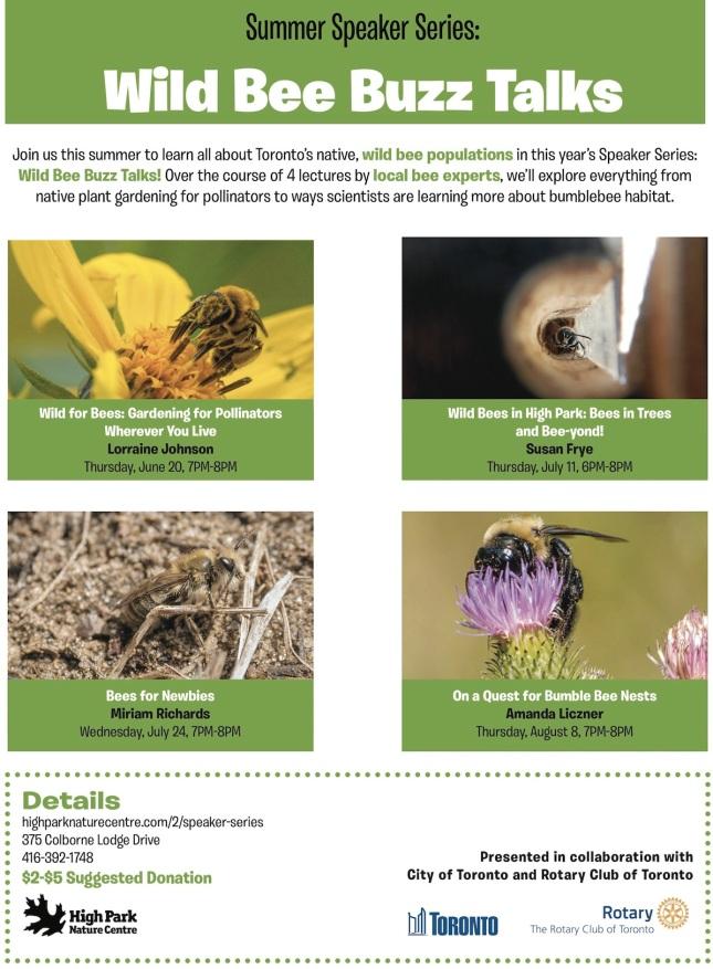 HPNC Wild Bee Buzz Talks 2019 sm